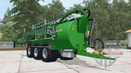 Samson PGII 25 north texas green para Farming Simulator 2015
