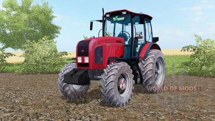 MTZ-Bielorrússia 2022.3 de cor vermelho brilhante para Farming Simulator 2017
