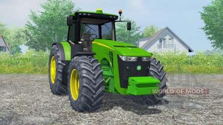 A John Deere 8360R islâmica greeɲ para Farming Simulator 2013