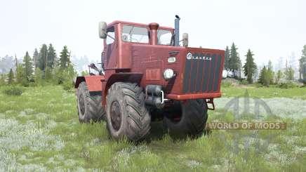 Kirovets K-700 macio cor vermelha para MudRunner