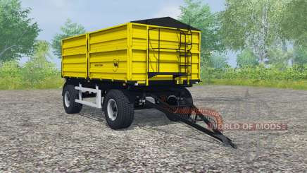 Wielton PRS-2-W14 safety yellow para Farming Simulator 2013