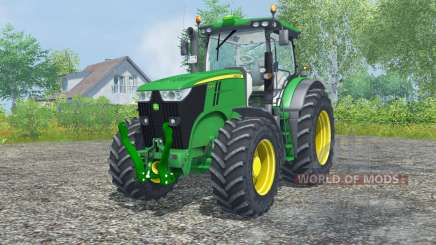 John Deere 7200R north texas green para Farming Simulator 2013