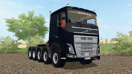 Volvo FH 10x10 sleeper cab 2012 para Farming Simulator 2017