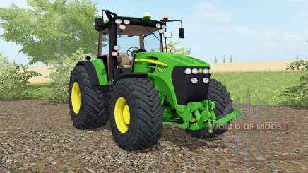 John Deere 7930 vivid malachite para Farming Simulator 2017