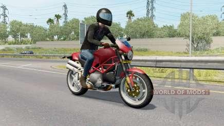 Motorcycle Traffic Pack v3.7 para American Truck Simulator
