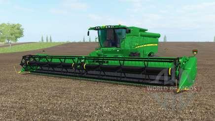 A John Deere S690i norte do texas greeᶇ para Farming Simulator 2017