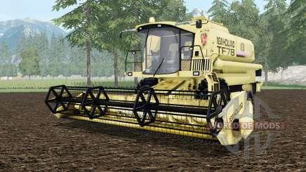 New Holland TF78 vanilla para Farming Simulator 2015
