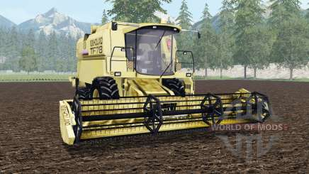 New Holland TF78 arylide yellow para Farming Simulator 2015