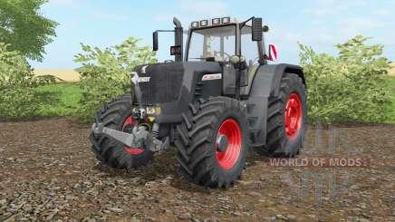 Fendt 930 Vario TMS Preto Beaꭒty para Farming Simulator 2017