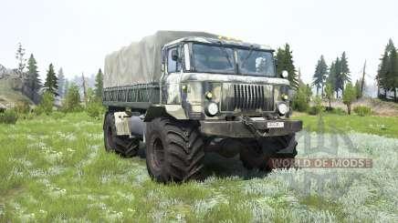 GAZ-66 Xamã para MudRunner