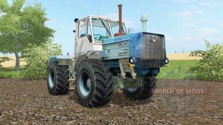 T-150K moderadamente cor azul para Farming Simulator 2017