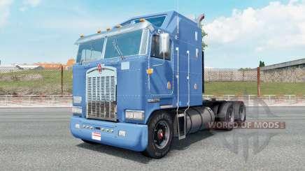 Kenworth K100 carolina blue para Euro Truck Simulator 2