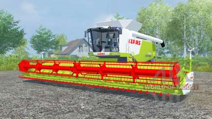 Claas Lexion 770 vivid lime green para Farming Simulator 2013