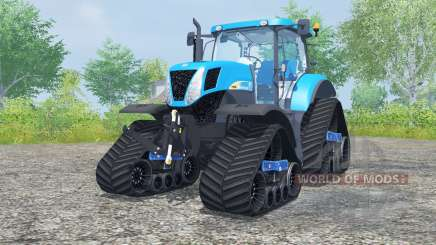 New Holland T7030 track systems para Farming Simulator 2013