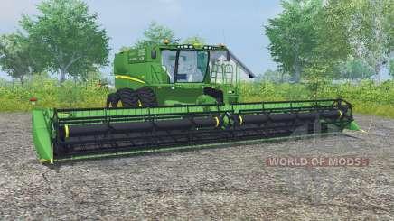 John Deere S680 dual front wheels para Farming Simulator 2013