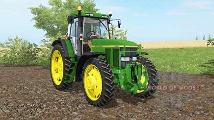 A John Deere 7810 islâmica greeɲ para Farming Simulator 2017