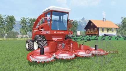 Hesston 7725 cinnabar para Farming Simulator 2015
