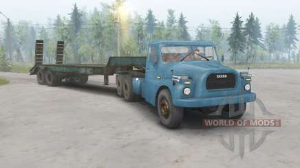 Tatra T148 6x6 v1.1 cor azul para Spin Tires