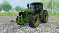 John Deere 8410 slimy green para Farming Simulator 2013