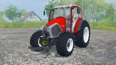Lindner Geotrac 94 candy apple red para Farming Simulator 2013