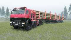 KamAZ-65228 para Spin Tires