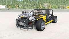 Ibishu 200BX Deathkart v1.3 para BeamNG Drive