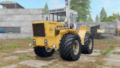 Raba-Steiger 250 indian yellow para Farming Simulator 2017