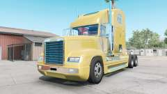 Freightliner FLD 120 golden sand para American Truck Simulator