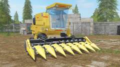 New Holland Clayson 8070 minion yellow para Farming Simulator 2017