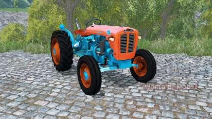 Lamborghini 1R giants orange para Farming Simulator 2015