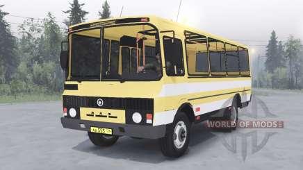 PAZ-3205 v1.2 cor amarela para Spin Tires