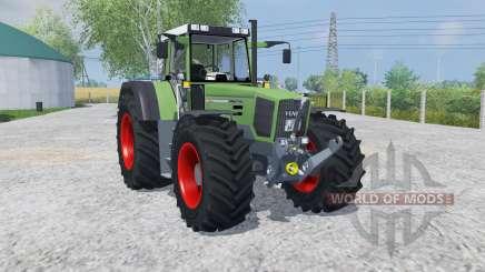 Fendt Favorit 824 Turboshift MoreRealistic para Farming Simulator 2013