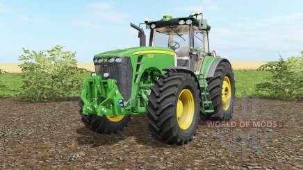 John Deere 8530 wheel shader para Farming Simulator 2017