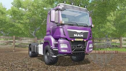 MAN TGS 18.480 plum para Farming Simulator 2017