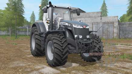 Massey Ferguson 8727〡8732〡8737 Black Edition para Farming Simulator 2017