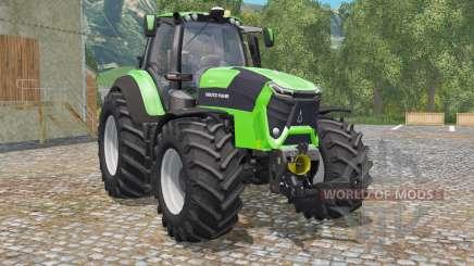 Deutz-Fahr 9340 TTV Agrotron green para Farming Simulator 2015