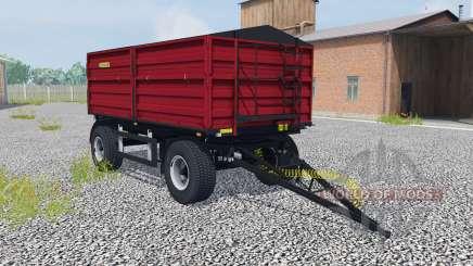Zaslaw D-737AA-14 ruby red para Farming Simulator 2013