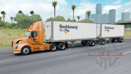 Painted Truck Traffic Pack v2.8 para American Truck Simulator