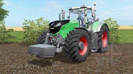 Fendt 1038-1050 Vario with weight para Farming Simulator 2017