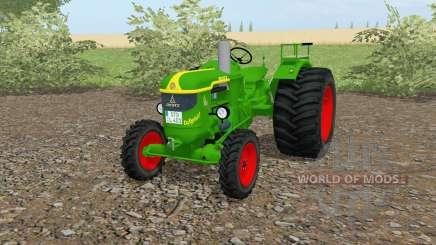 Deutz D 40 islâmica greeꞑ para Farming Simulator 2017