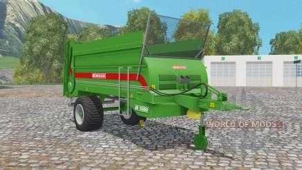 Bergmann M 1080 north texas green para Farming Simulator 2015