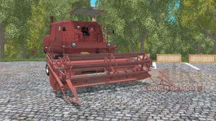 Bizon Super Z056 english red para Farming Simulator 2015