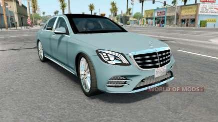 Mercedes-Benz S 400 d Lang AMG Line (V222) 2017 para American Truck Simulator
