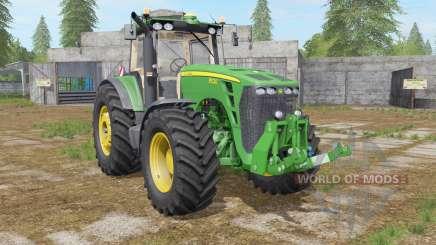 John Deere 8530 dark pastel green para Farming Simulator 2017
