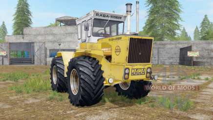 Raba-Steiger 250 minion yellow para Farming Simulator 2017