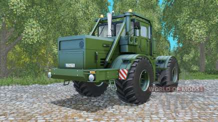 Kirovets K-700A escuro, o verde-oliva para Farming Simulator 2015