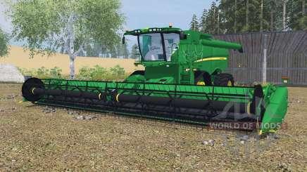 John Deere S670&S680 dartmouth green para Farming Simulator 2013
