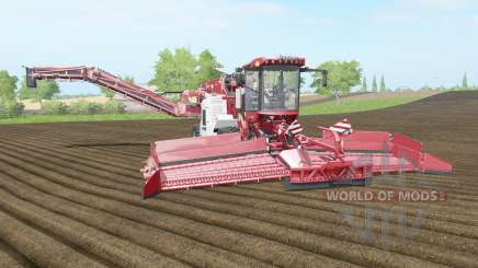 Holmer Terra Felis 2 english vermillion para Farming Simulator 2017
