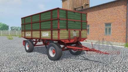 Krone Emsland hunter green para Farming Simulator 2013