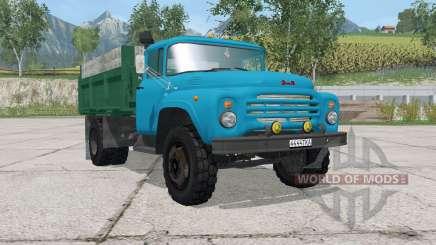ZIL-MMZ-554, de cor azul, para Farming Simulator 2015